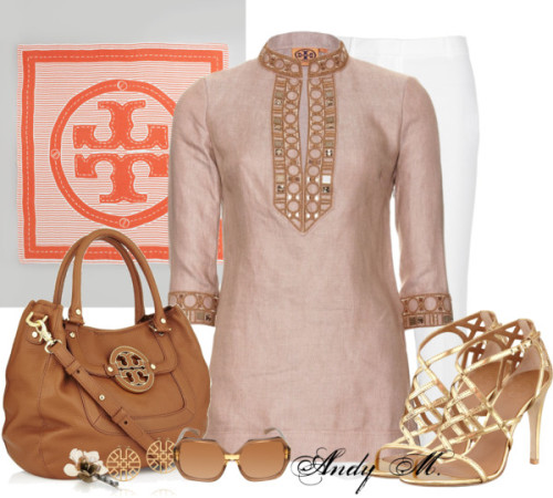 moyssidis:  Tory Burch Beige by andym8 featuring retro sunglasses