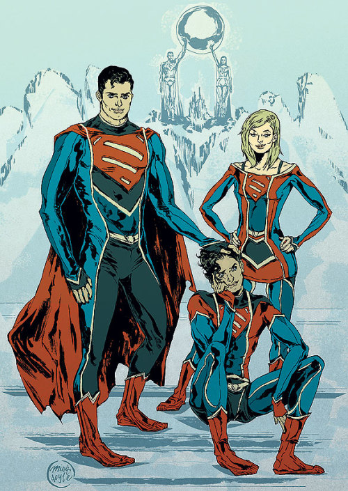 projectrooftop:  Superman Family redesigns by Ming Doyle.