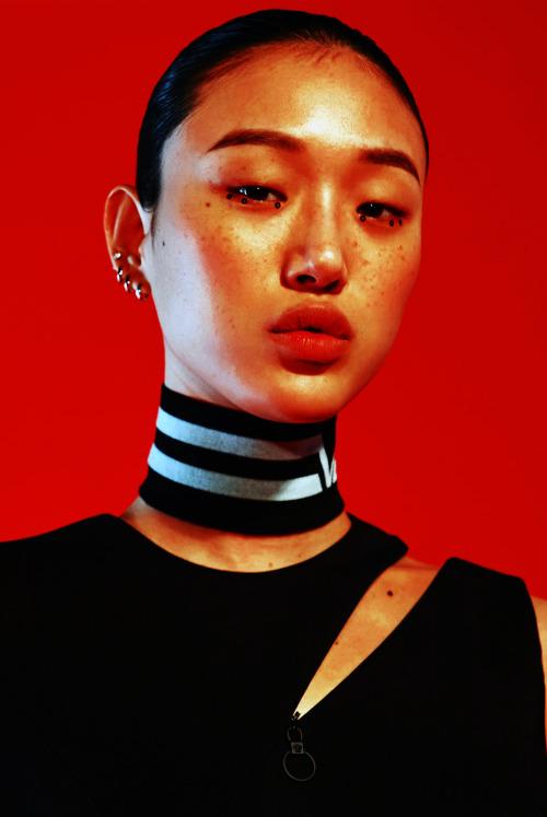 Sora Choi for Heren Magazine, August 2016.Makeup by Lee Jun-Sung. #Choi So Ra #Choi Sora#Model#Heren#Heren Magazine#Magazine#Lee JungSung #Lee Jung Sung  #So Ra Choi #Sora Choi#amypostamy#Face#Red#Makeup#Beauty