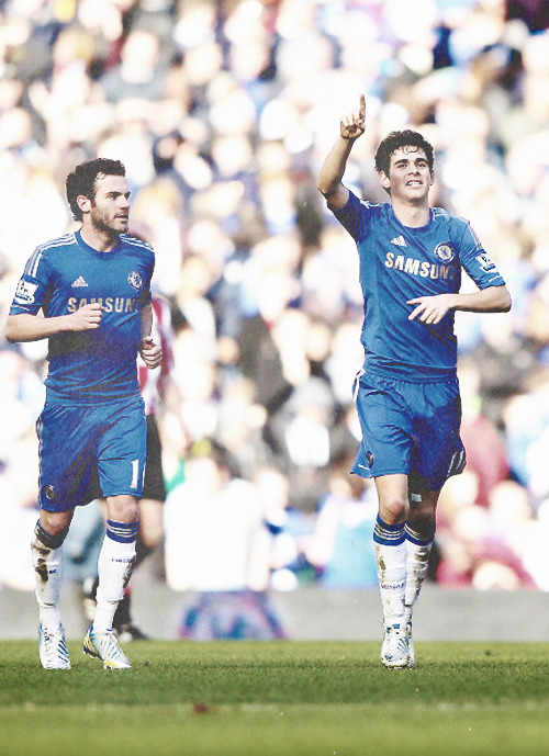 Man of the match: Oscar