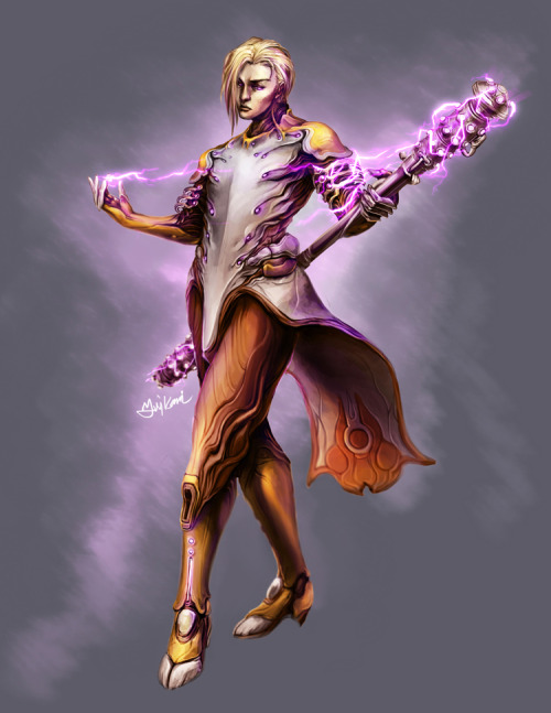 Warframe - Voltby ~yuikami-da Fabulous Volt is Fabulous…Took forever in Photoshop CS5