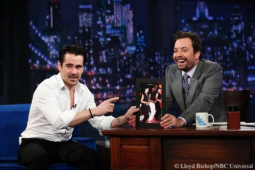 Last night Colin Farrell revealed his secret past as a line dance instructor.