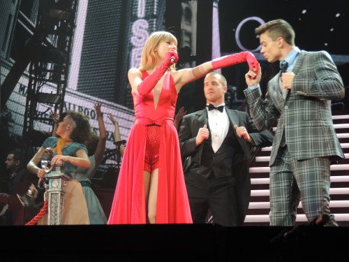 The Lucky One - Orlando, FL  The Red Tour 4/12