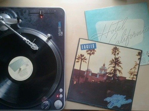 testimonialyear:  Eagles - Hotel California#vinyladay
