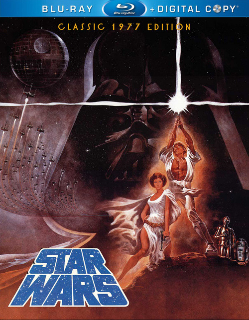 These Are The Star Wars Blu-Rays You're Looking For? http://bit.ly/16pQqZA   Source  Our Tie Fighter friends share no stranger to us, the fab Owain Wilson's epic work and have an awesome set of mock up covers which really wets our appetite after that seriously poor art on the Blu ray box set last year. These look fantastic! More from us sharing Owain's work here Whilst I'm not a fan of the gritty grainy non special editions I do miss the fact like many of us that Han Shot first : (Related Fly Posts