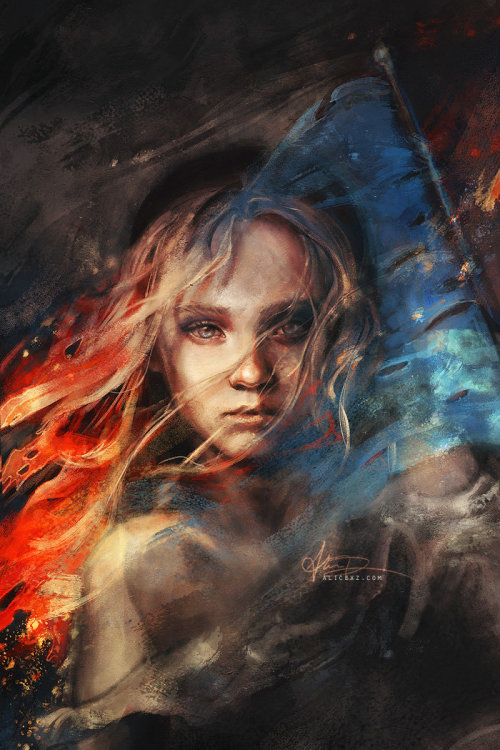 mikewc:  Les Miserables Art By Alice X. Zhang