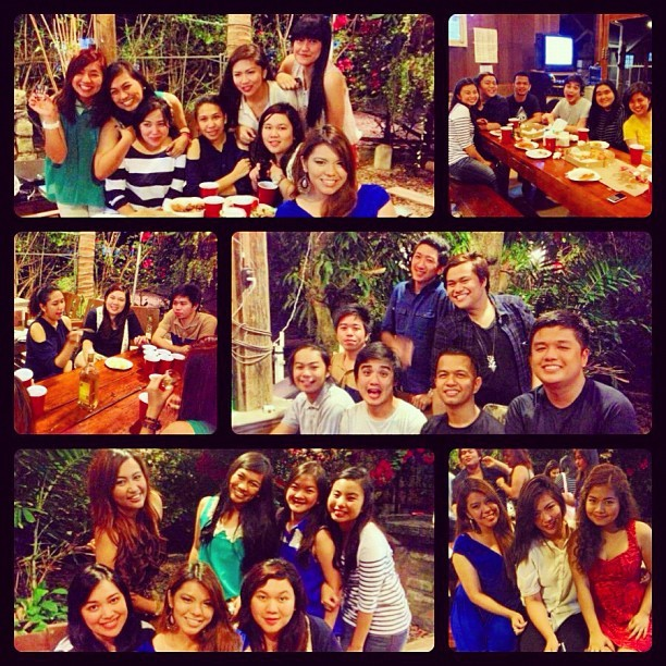 Last night's post Christmas Party at Rueda's awesome place! #highschool #peninsulanians08 #party #december  #2012 #friends