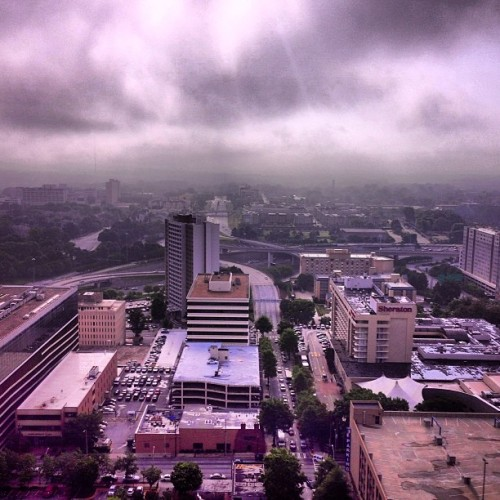 It's one of those grey Mondays today. #atlanta #idontlikemondays