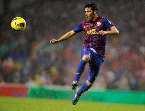 lovesoccerlovelife:  27/50 favorite players - David Villa