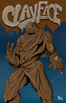 patientcomicaddict:  CLAYFACE by Mike Mahle
