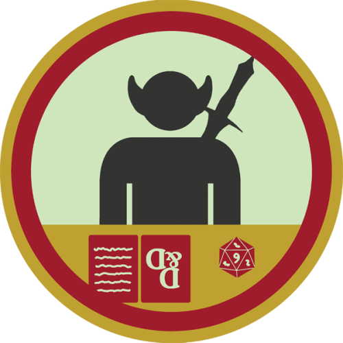 lifescouts:  Lifescouts: Dungeons and Dragons Badge If you have this badge, reblog it and share your story! Look through the notes to read other people's stories. Click here to buy this badge physically (ships worldwide). Lifescouts is a badge-collecting community of people who share real-world experiences online.  HUSBAND