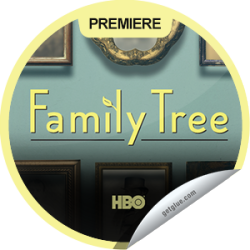 I just unlocked the Family Tree Series Premiere sticker on GetGlue                      2231 others have also unlocked the Family Tree Series Premiere sticker on GetGlue.com                  Newly single and unemployed Tom Chadwick goes on a journey of self-discovery after inheriting a chest of curios from a deceased great-aunt in this mockumentary series.  Share this one proudly. It's from our friends at HBO.