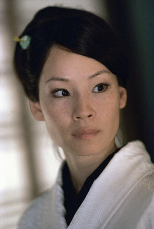 bohemea:  Lucy Liu in Kill Bill vol. 1