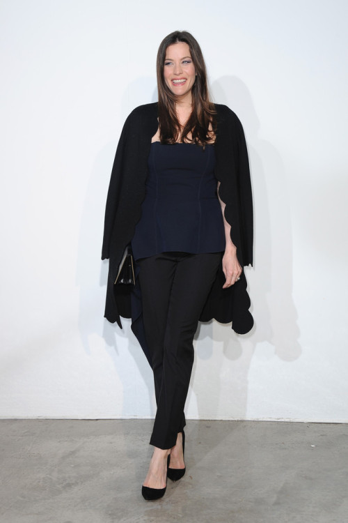 Liv Tyler - Dior Cruise Collection 2014 show in Monaco 5/18/13