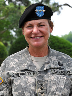 fromcleopatrawithlove:  Ann E. Dunwoody - The first woman to serve as a 4-Star General both the Army and the U.S. Armed Services.