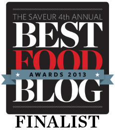 Saveur magazine has added beer blogs to their Best Food Blog competition this year for the first time, and yours truly is one of the six finalists! It's an incredible honor for any food and beverage writer, and I would love to have your support. So please, if you love beer as much as I do, and if GBH has made a difference in your love for that beer, toss me a high-five by voting for me in the competition!