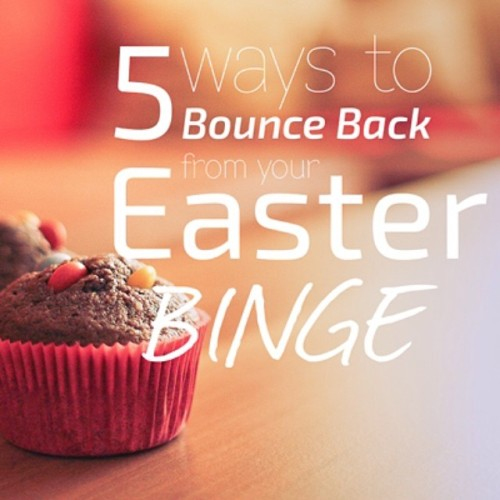Today on the blog: 5 Fast Ways to Bounce Back from your Easter Binge!  👊 VeganSparkles.com ✨ #health #wellness #nutrition #iqs #vegan #cleaneating #raw