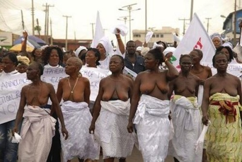 thosepeskydames:  Bodies That Matter: The African History of Naked Protest, FEMEN Aside