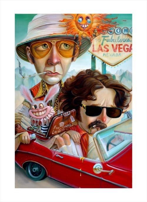 theeraserhead:  Fear and Loathing in Las Vegas.