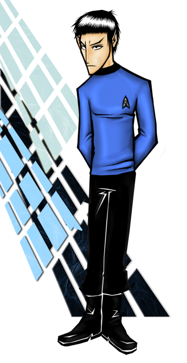 …LOGICALNESS OF BLUENESS by #StarTrek (#deviantart)
