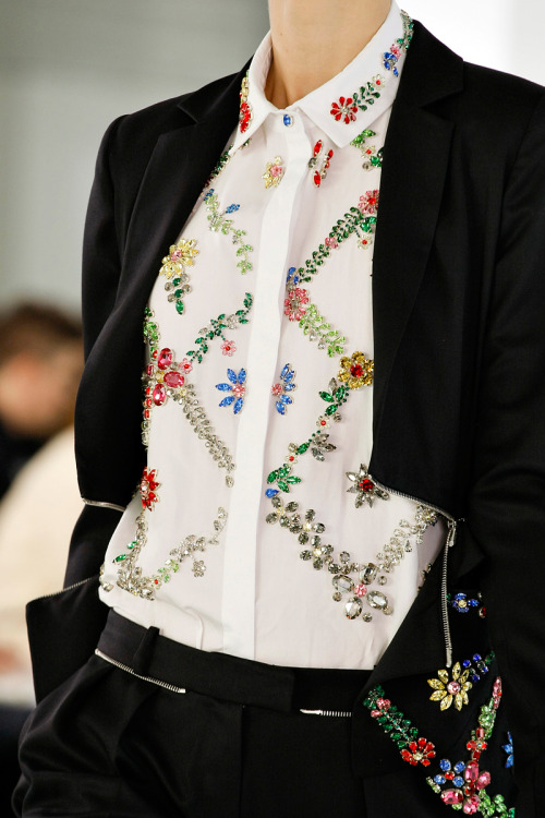 dustjacketattic:  Preen Fall 2013 RTW