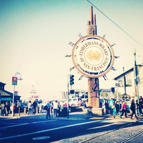 San Francisco Fisherman's Wharf!