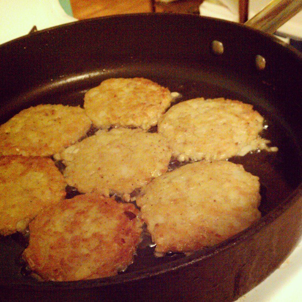 a potato pancake experiment #food #cooking  (at Mermaid Misandry Monster Mission)