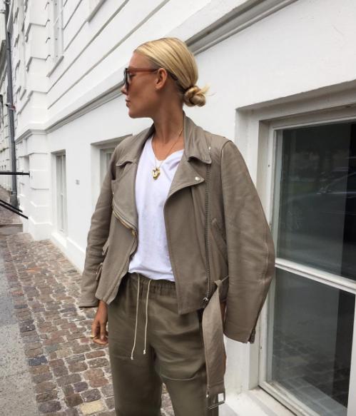 freja wewer blogger style inspo fashio street style model acne studios