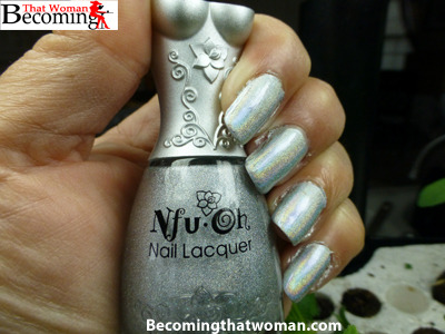 Nail of the Day Archive: NFU Oh 61 Holographic Nail Polish I got at @fabuloustreet #notd, #nfuohView Post