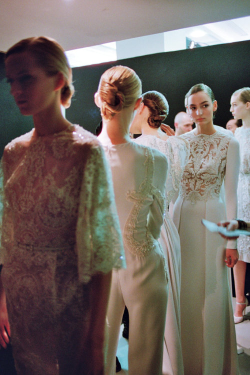 havte:  backstage at elie saab couture ss13 by schohaja