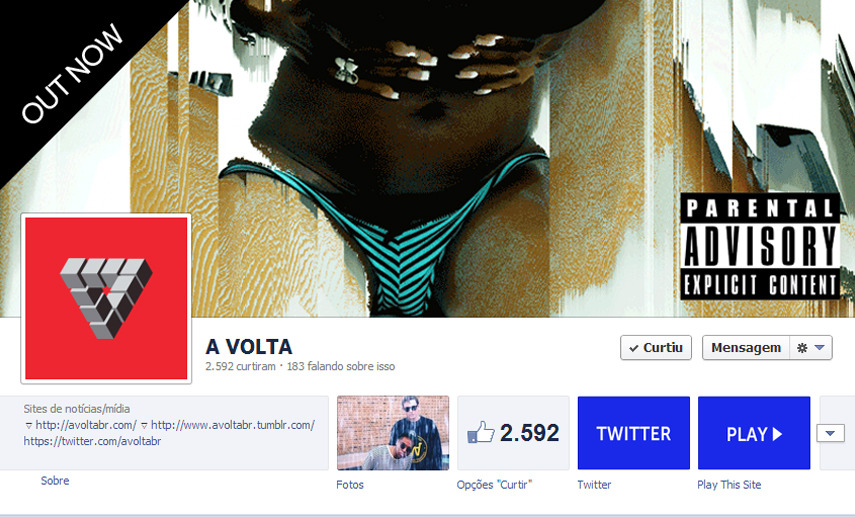 !YO TUMBLR, HELP US REACH 3K FANS ON FACEBOOK! https://www.facebook.com/avoltabr https://www.facebook.com/avoltabr