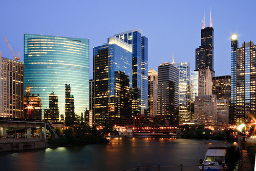arianavidela:  CHICAGO ♥  Fantastic photo of my hometown!