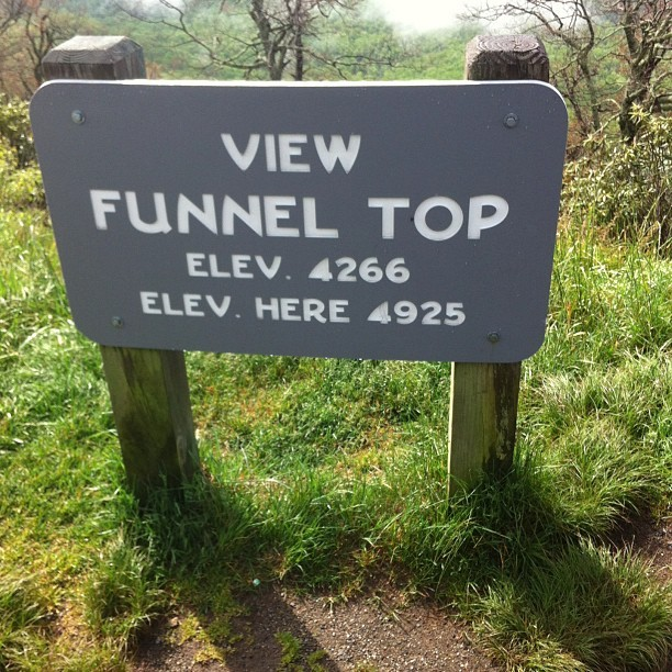 Funnel top.
