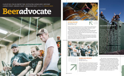I got the cover of the January issue of Beer Advocate magazine! See more about it, and the Solemn Oath guys that inspired it here »