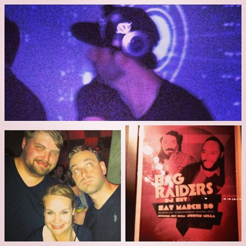 How's your Saturday night? #bagraiders #dj #sf @ctrhode @noissim  (at Vessel)