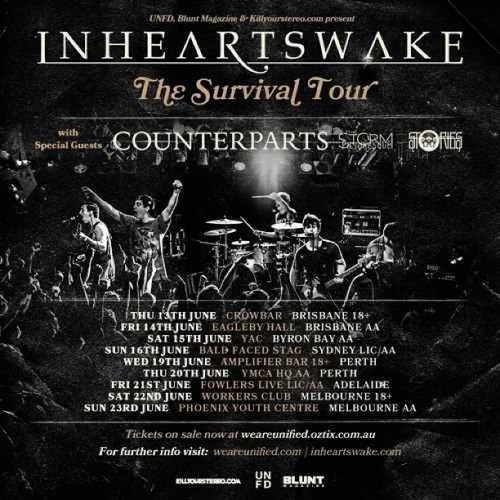 The Survival Tour June 2013 w/ #Counterparts #TheStormPicturesque #Stories Tickets on sale this Thursday! #posters