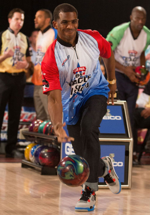 Chris Paul like bowling
