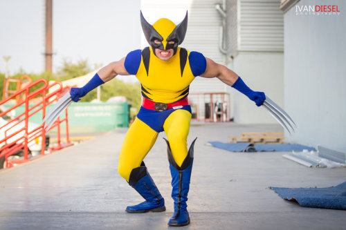 X-Men Wolverine Cosplay by ~IVANDIESEL on Deviantart.
