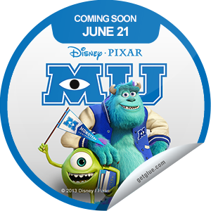 I just unlocked the Monsters University Coming Soon sticker on GetGlue                      4799 others have also unlocked the Monsters University Coming Soon sticker on GetGlue.com                  Before they were incorporated, they had to be educated. Monsters University opens in theaters on 6/21.  Share this one proudly. It's from our friends at Disney.