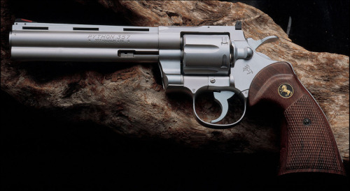 Not crazy about the 357 Magnum just saying like the 44 Magnum better don't care for Colt revolvers just saying like Smith&Wesson just saying Model 29 44 Magnum just saying. Ragwolf60.