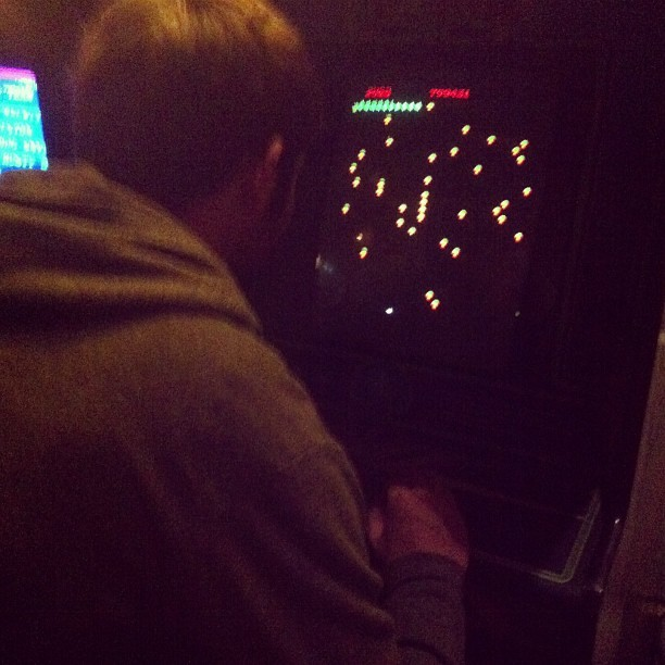 @mike_kaiser_  and his games (at Barcade)