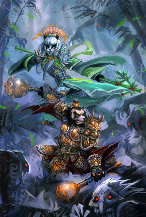 warcraft of Pandaria by *breathing2004