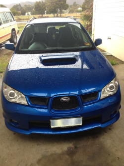incubusdreaming:  I just got to drive my friends Subaru Impreza WRX, its only my second time driving and first driving a manual. I haven't been that nervous in a while.