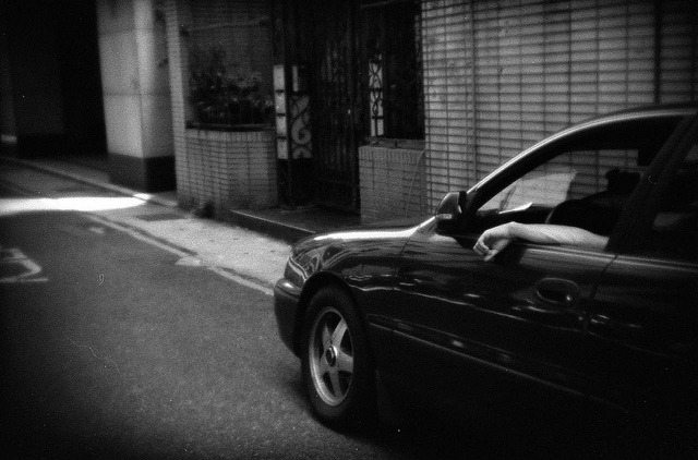 untitled on Flickr.Holga 135BC, Fuji Neopan SS100