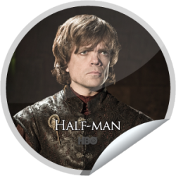 I just unlocked the Game of Thrones: Half Man sticker on GetGlue                      18745 others have also unlocked the Game of Thrones: Half Man sticker on GetGlue.com                  One small fan can cast a very large shadow. You're a big Game of Thrones fan, that's 10 check-ins.  Share this one proudly. It's from our friends at HBO.
