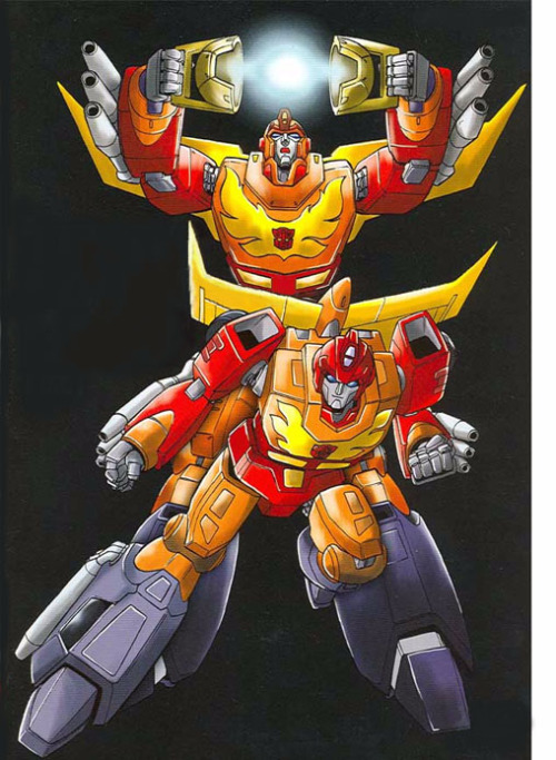 You Got the Touch! Defending Rodimus Prime (Transformers G1) Okay, I'll admit, Rodimus isn't my highest favourite Autobot, but I still personally like him. However, I still find it slightly annoying that he is so despised. Again, I'm going to look at why people don't seem to like him. (WARNING: This defense contains spoilers for the 1986 Transformers Movie. You have been warned) Has bouts of insecurity: Well, I regret to say this, but not everyone can be confident 100% of time. At least once in someone's life, they will doubt themselves and what they are doing. It just happens more in certain people than others. Rodimus is no exception. You also have to consider that the main reason he's insecure at times is that people are comparing what he's doing to fraggin' OPTIMUS PRIME. That's a hell of a lot of pressure! How would you feel if you had taken a certain position (e.g. chairman of a large group/club, president) after someone who has done an almost perfect job and people start to wonder if you'll be anything like your predecessor? It's stressful and worrying about what you're doing is a consequence of that. It's not that Rodimus has little to no confidence, it's the pressures and comparisons that make him insecure about himself. Sort of played a role in Optimus' death while trying to save him: Alright, I will confess that the first time I saw the '86 movie, I got p*ssed off at Hot Rod (Not yet Rodimus Prime!) for what happened to Optimus. However, there are two main points. Megatron was shown to be reaching for a blaster to shoot Optimus with. If no one had interrupted, then there would have been a high chance that Megatron would have gotten the gun and shot at Optimus. So Hot Rod/Rodimus's involvement could have been just a mere delay of a possibly inevitable result. It could have been ANYONE that would try to save Optimus! It just happened to be Hot Rod/Rodimus who had actually dove in to save his leader, only to get caught in the process. Think about it; if the leader of your group, who is fighting for the good of all of existence is fighting up against your sworn enemy who is about to pick up a gun and kill your leader, what would you do? What Hot Rod/Rodimus had done was actually a show of bravery and loyalty; he was willing to risk his hide to save Optimus, but bad luck struck and he was caught in the process. Maybe we could focus on how he was willing to risk getting killed saving Optimus rather than how Megatron caught him and killed Optimus? Overall, it was MEGATRON'S fault that Optimus died and he had merely used Hot Rod/Rodimus as a decoy to enable himself to do so. Not Optimus Prime: Well, this is the most common reason for hating Rodimus. And frankly? It's bullsh*t. I believe that as a species, humans have at least one phase where we oppose change to some degree. Some people get over it and go with the flow when changes happen. But others are stubborn and believe that only one thing about a certain thing can be good and whenever something disrupts it, there's uproar. Some examples would be 'David Tennant is being replaced on Doctor Who? BLASPHEMY!', 'Edward Norton isn't going to play the Hulk in the new Avengers movie!? New guy must suck!' and 'This new Hannibal show is gonna suck; no one can surpass Anthony Hopkins as Lecter!' (The last one applies to me, I'll admit). However, despite the change, it can be welcomed. As with the above examples, Matt Smith, Mark Ruffalo and Mads Mikkelsen have all been well-received in their respective roles and have earned respect from those who were initially reluctant to get used to the change. Unfortunately, there are still people who are stubborn over change and refuse to accept it. Unfortunately, at this time, Hasbro wanted to sell new Transformers, but it was their idea to usher them in by getting rid of older characters. However, the characters that were introduced, like Arcee, Ultra Magnus and Blurr became fan favorites on some level, although Rodimus is still hated. I think it's because Optimus has become an icon of the series and the idea of his being replaced by a new character is almost inconceivable. Unfortunately, change is a natural and unavoidable factor in everything, even in what is considered 'kid's stuff'. But if there is still doubt, we can assume that upon Optimus' death, his essence remained with the Matrix of Leadership and so when Rodimus inherited the Matrix, he also gained a part of Optimus. So while he isn't truly Optimus, he has a part of him inside! Thus concludes my defense of Rodimus.