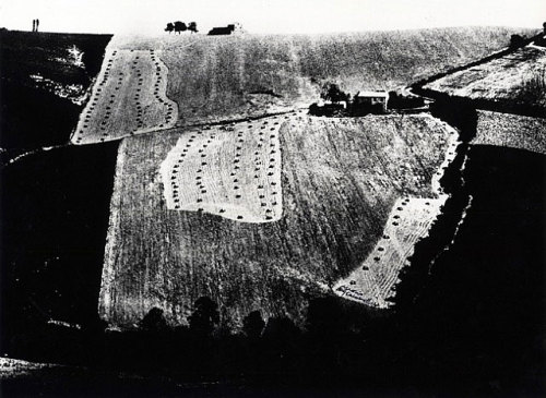 Metamorphosis of the Land (series), 1968 by Mario Giacomelli
