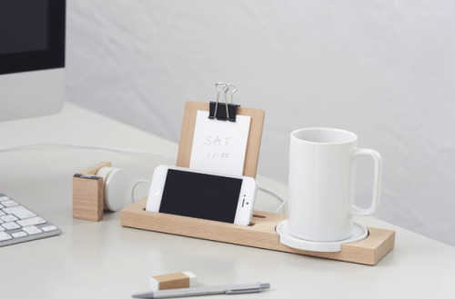 ideaco's wooden mug tray