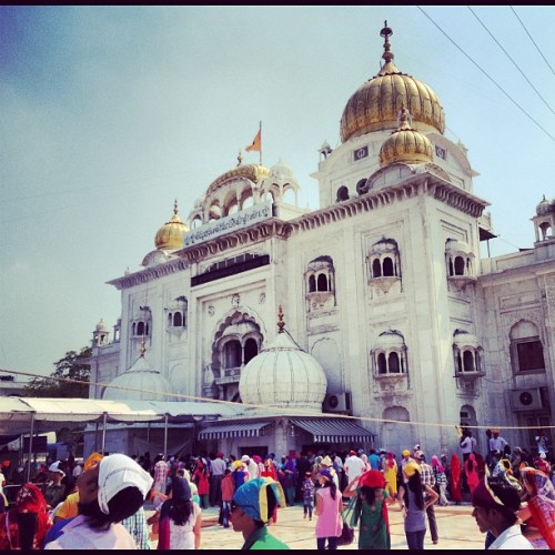 Bangla Sahib… (at Bangla Sahib Gurudwara)