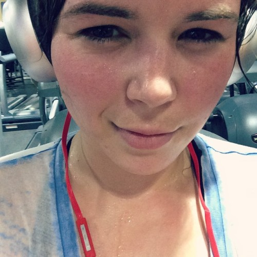 aedanrayne:  Yeaaah, I'm still at the gym killing it! 2.5 hours today! 😜 I'm aiming to be on cam at 8 or 9 PM EDT. #fitness #lifting
